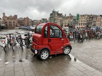 Amsterdam red car